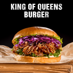 King of Queens Burger
