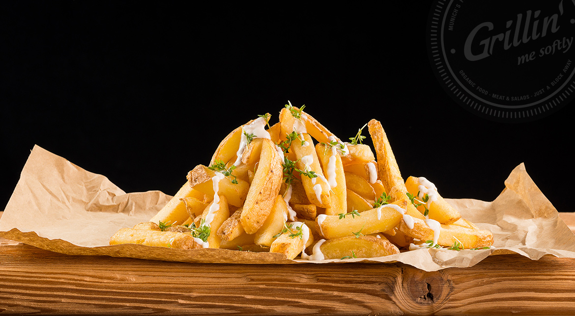 Truffle Hand Cut Fries (Trüffel Pommes)