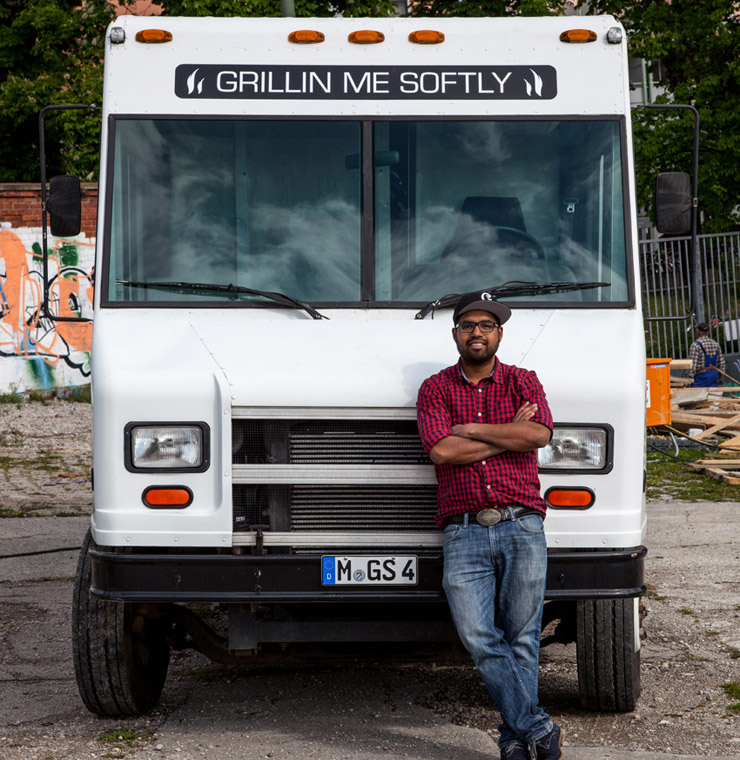 Grillin' me softly - Munichs 1st Gourmet Food Truck