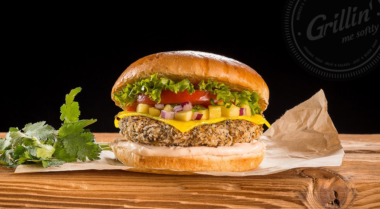 Veggie Tandoori Burger